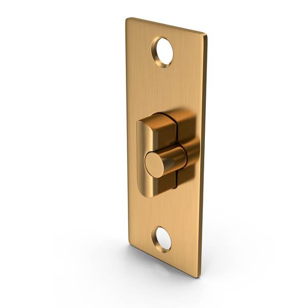 Door Lock Deadlatch Golden PNG & PSD Images