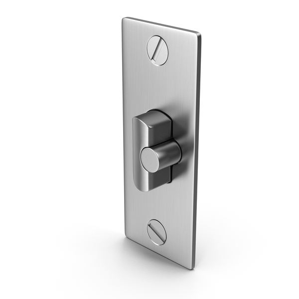 Latch: Door Lock Deadlatch With Screwhead PNG & PSD Images