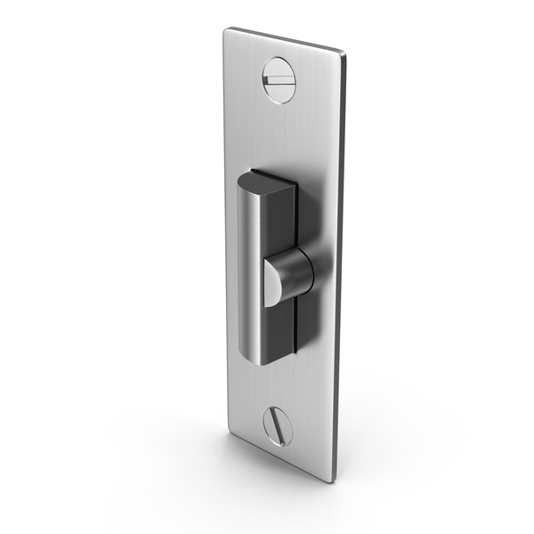 Door Lock Deadlatch With Screwhead PNG & PSD Images
