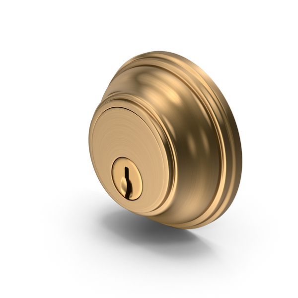 Door Lock Golden PNG & PSD Images