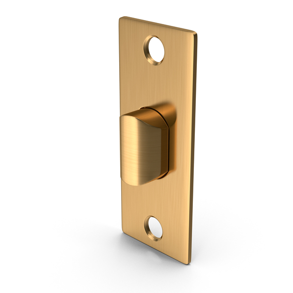 Door Lock Latch Golden PNG & PSD Images
