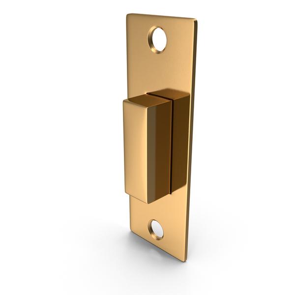 Door Lock Latch Golden PNG & PSD Images