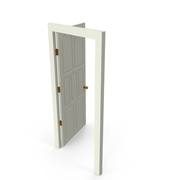 Door Open Painted PNG & PSD Images