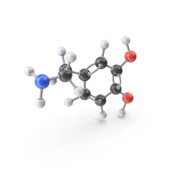 Dopamine Molecule PNG & PSD Images