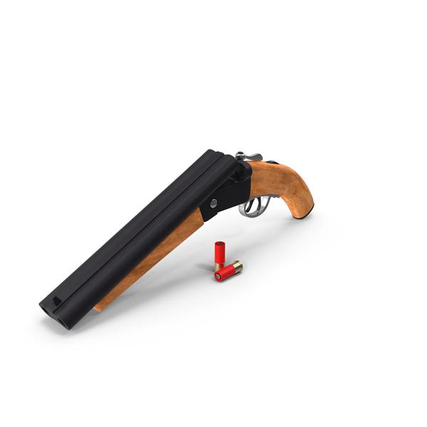 Double Barrel Shotgun PNG & PSD Images