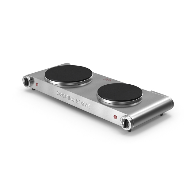 Double Electric Cooking Stove PNG & PSD Images