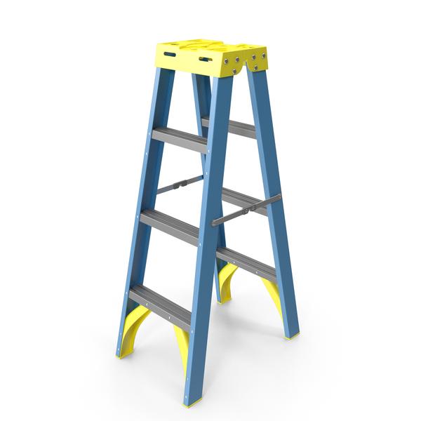 Step Ladder: Double Sided Stepladder PNG & PSD Images