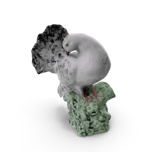 Animal: Dove Statue PNG & PSD Images