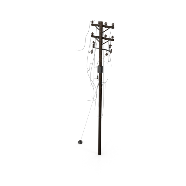 Utility Pole: Down Power Lines PNG & PSD Images
