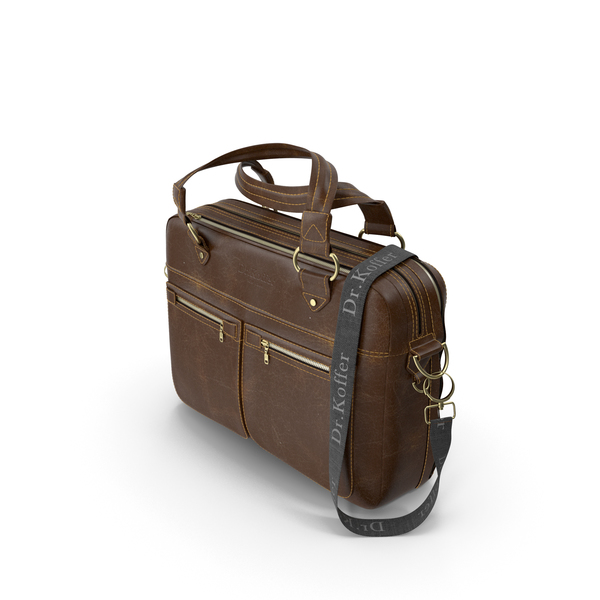 Dr Koffer Briefcase Old Leather PNG & PSD Images