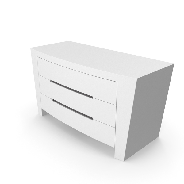 Dresser: Drawer and Night Table Annibale Colombo PNG & PSD Images