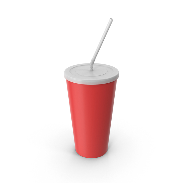 Soda: Drink Cup Red PNG & PSD Images