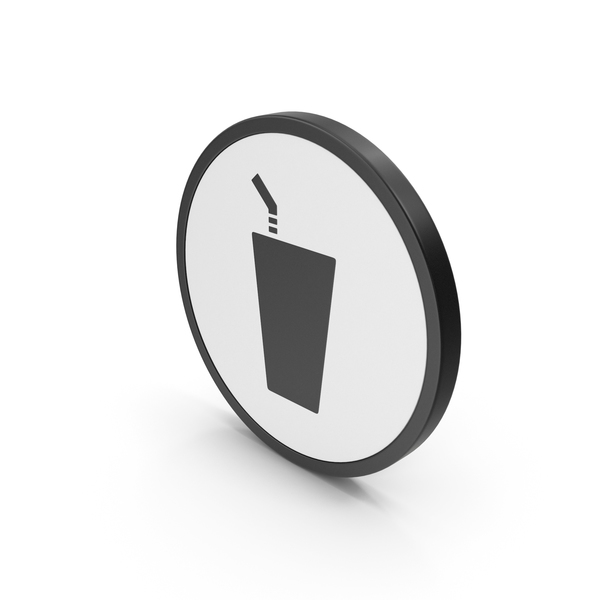 Drink Icon Black PNG & PSD Images