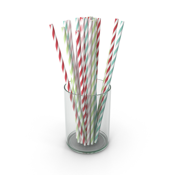 Drinking Straws PNG & PSD Images