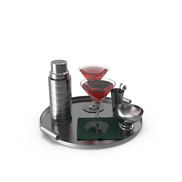 Drinks Tray PNG & PSD Images