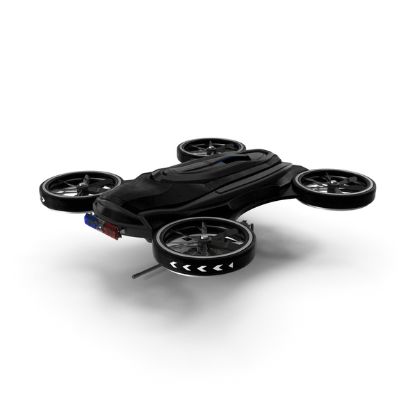 Drone with Machine Gun PNG & PSD Images