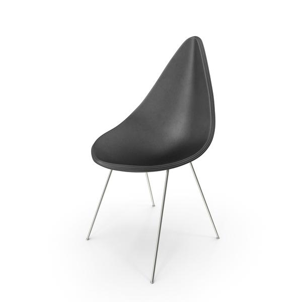 Drop Chair Fritz Hansen PNG & PSD Images
