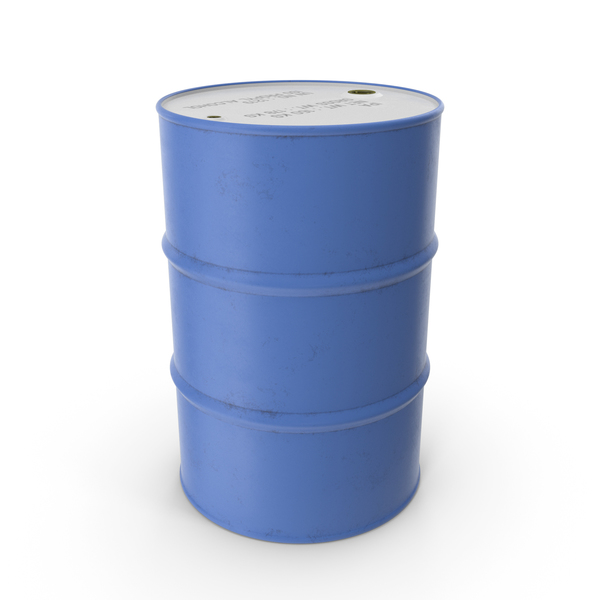 Barrel: Drum Blue PNG & PSD Images