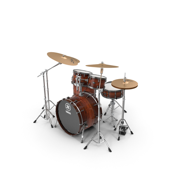 Drum Kit Yamaha Live Custom Oak PNG & PSD Images