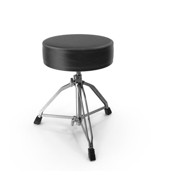 Drum Kit: Drumhocker Round Seat PNG & PSD Images