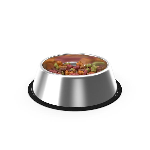 Dog: Dry Pet Food Bowl PNG & PSD Images