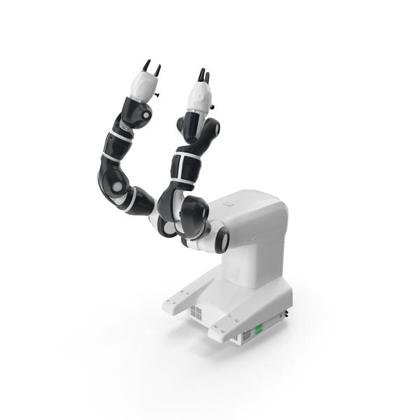 Dual Arm Collaborative Robot PNG & PSD Images