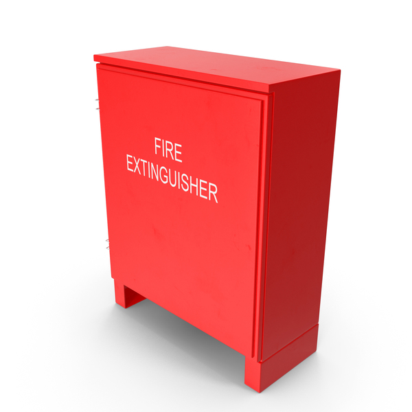 Dual Fire Extinguisher Fibreglass Cabinet PNG & PSD Images