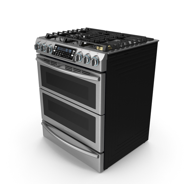 Dual Fuel Range with Gas Burners Samsung PNG & PSD Images