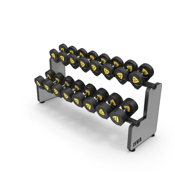 Dumbbell Rack Object