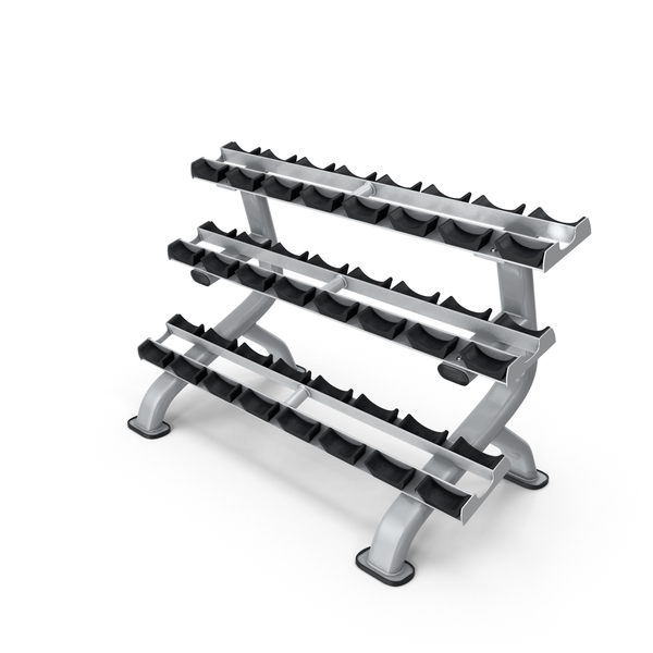 Weight Plate Tree: Dumbbell Rack PNG & PSD Images