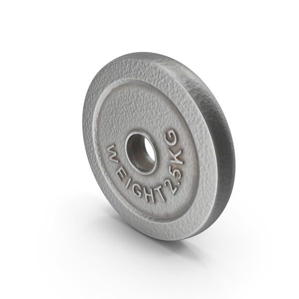 Dumbbell Weight Plate 2.5 kg PNG & PSD Images