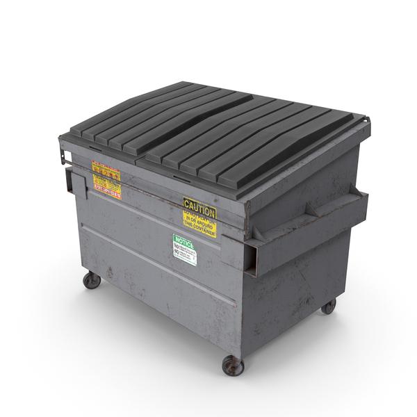 Dumpster Grey PNG & PSD Images
