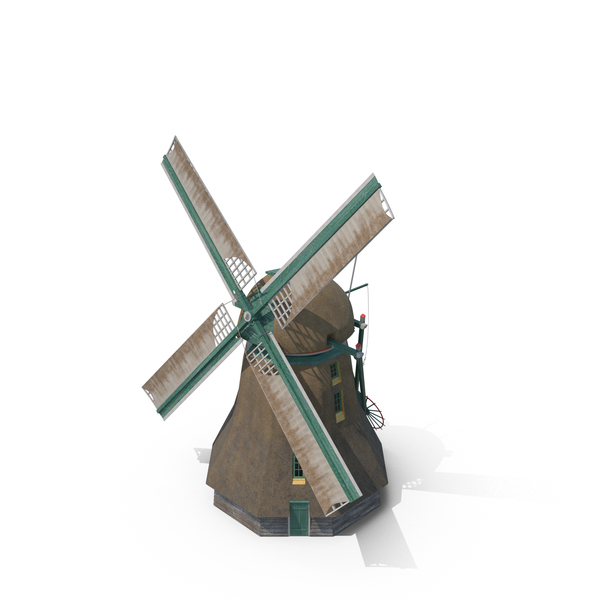 Dutch Windmill PNG & PSD Images