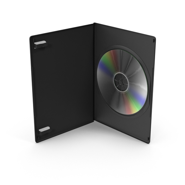 DVD Case PNG & PSD Images