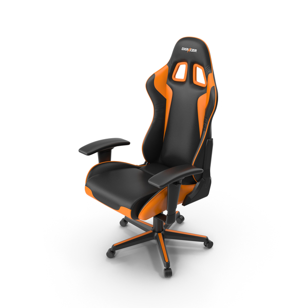 DXRacer Gaming Office Chair PNG & PSD Images