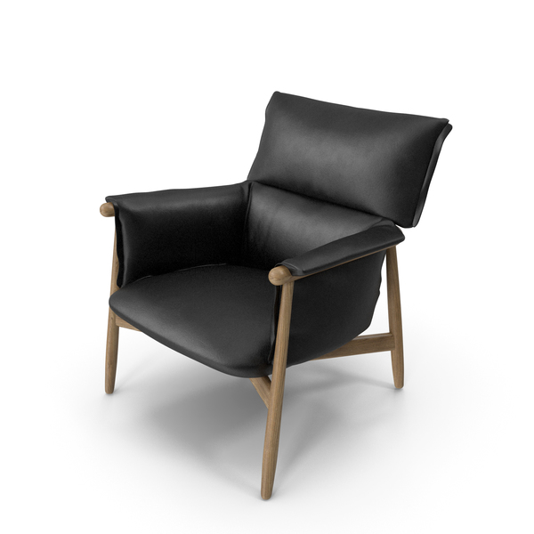 E015 Lounge Chair FIXED PNG & PSD Images