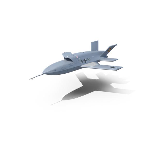 EADS Barracuda UAV PNG & PSD Images