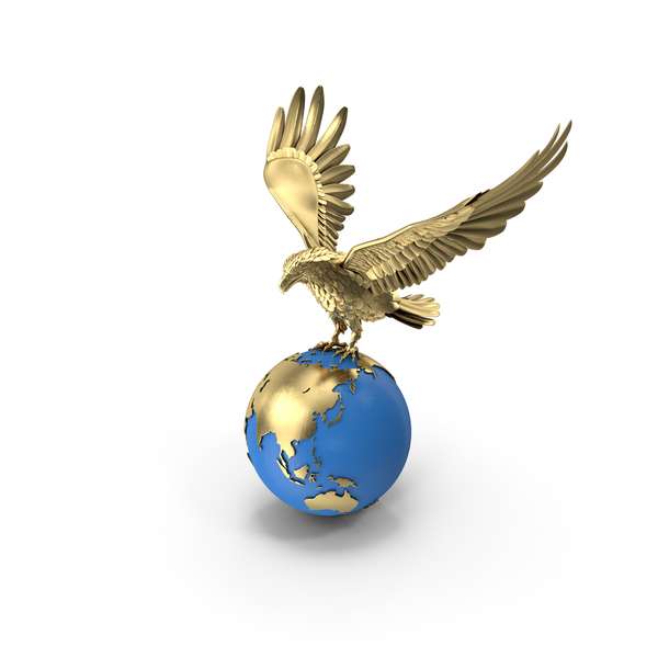 Eagle Holding Globe PNG & PSD Images