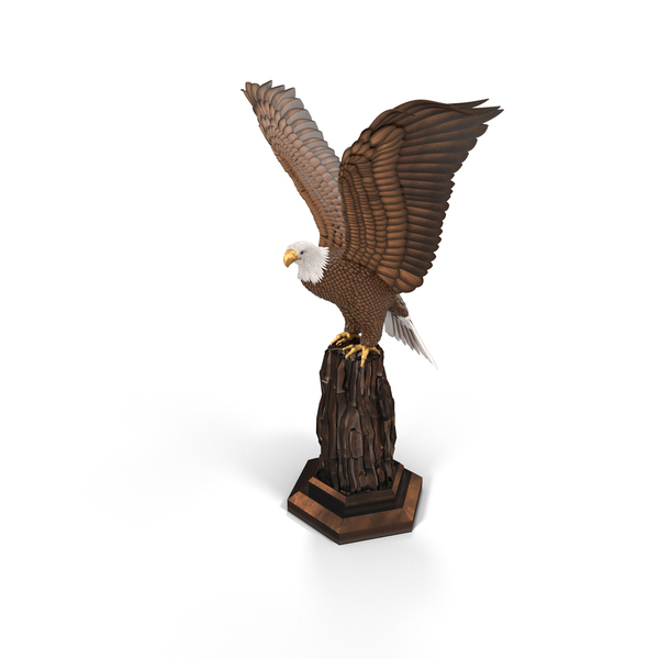 Eagle Sculpture PNG & PSD Images