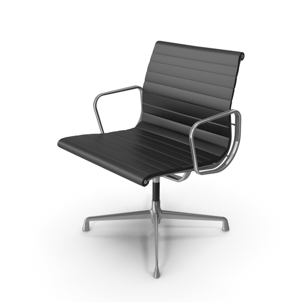 Eames Aluminium Chair PNG & PSD Images