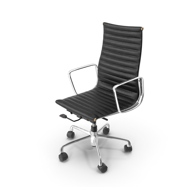 Eames Aluminum Group Executive Chair PNG & PSD Images