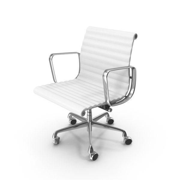 Eames Aluminum Management Chair PNG & PSD Images