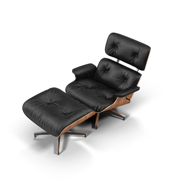 Arm: Eames Chair - Black PNG & PSD Images