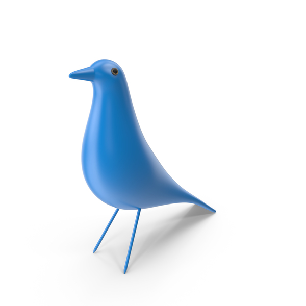 Statue: Eames House Bird PNG & PSD Images