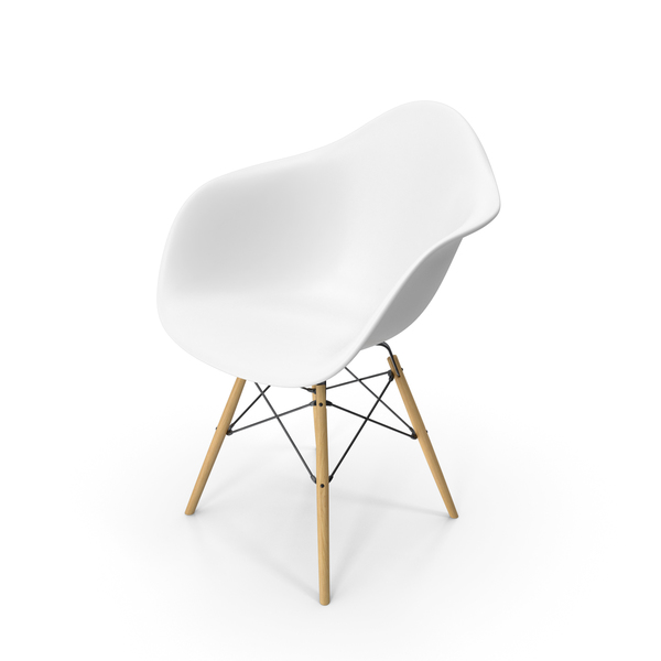 Arm Chair: Eames Modern Armchair PNG & PSD Images