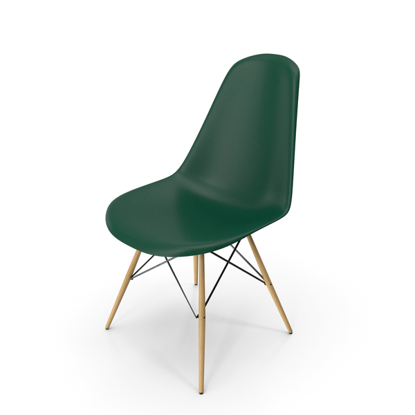 Eames Modern Chair Green PNG & PSD Images