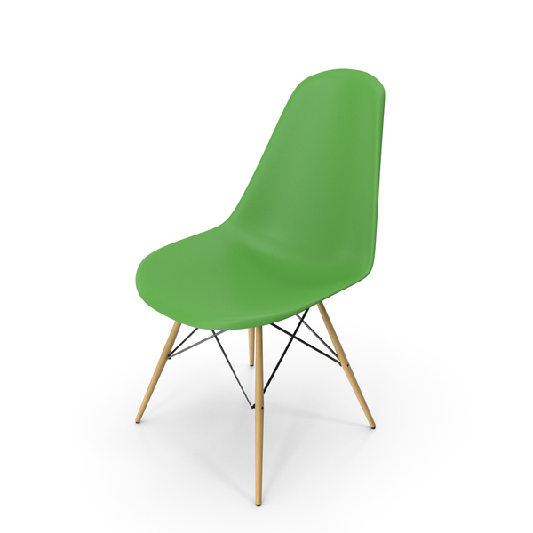Eames Modern Chair Light Green PNG & PSD Images
