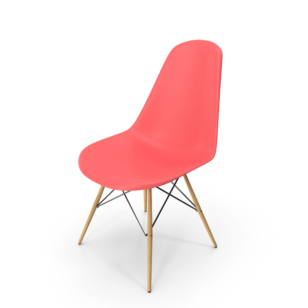 Eames Modern Chair Pink PNG & PSD Images