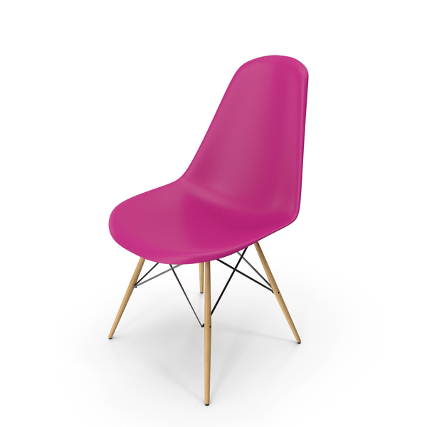 Eames Modern Chair Purple PNG & PSD Images