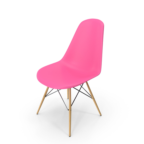 Eames Modern Chair Violet PNG & PSD Images